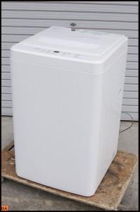 人気ブランド無印良品の洗濯機を買取しました。 6kg以上のファミリーサイズや洗濯乾燥機はさらに高価買取いたします。